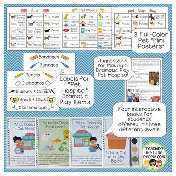All About My Pet: Printables, Activities, & Ideas for Preschool and Kindergarten