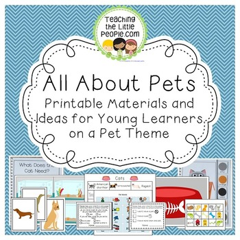 All About My Pet: Printables, Activities, & Ideas for Pres