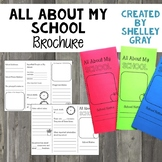 All About My School: A Trifold Brochure for Back to School
