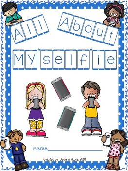 """All About My""""Self""""ie Student Intro Booklet WITHOUT LINES"""
