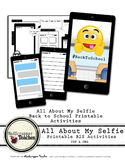 All About My Selfie Back to School Printable
