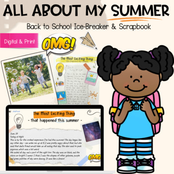 All About My Summer - A Back To School Ice Breaker Activity #BTS2018