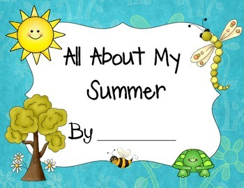 Seasons All About My Summer Book