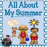 All About My Summer Booklet {Writing Activity, Synonym Act