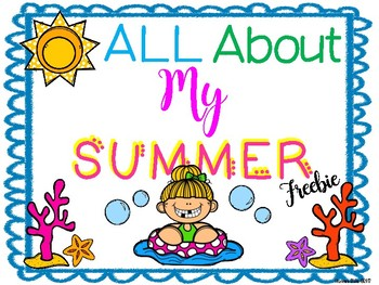 All About My Summer Freebie