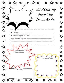 All About My Super Year Poster