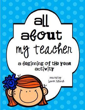 All About My Teacher
