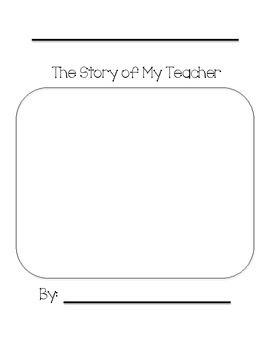 All About My Teacher Book