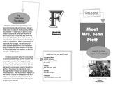 All About My Teacher Brochure