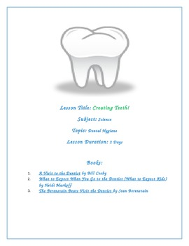 All About My Teeth! Lesson Plans Bundle