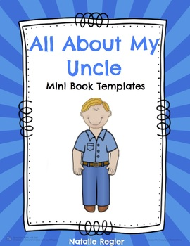 All About My Uncle Mini Book Templates