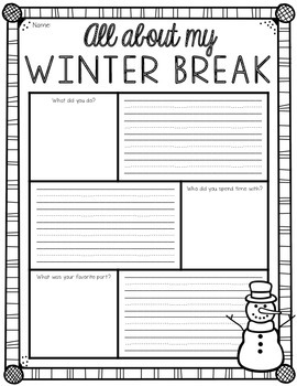 all about my winter break writing freebie by bethany. Black Bedroom Furniture Sets. Home Design Ideas