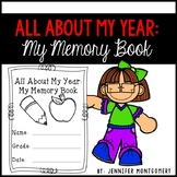 All About My Year: My Memory Book- Multiple Grades