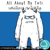 All About My Yeti Writing Activity