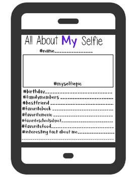 """All About Myselfie """"Me"""""""