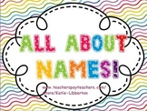 All About Names