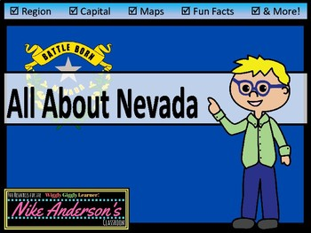 All About Nevada | US States | Activities & Worksheets