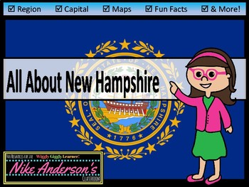 All About New Hampshire | US States | Activities & Worksheets