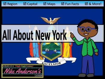 All About New York | US States | Activities & Worksheets