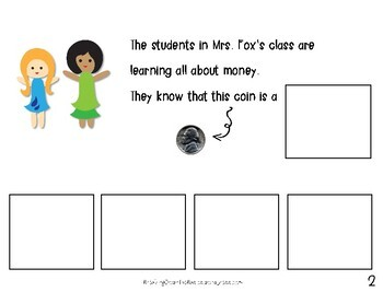 All About Nickels {An Adapted Book for Young or Struggling Learners}