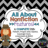 All About Nonfiction Features: A Complete Unit