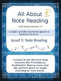 All About Note Reading
