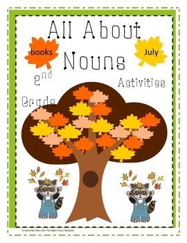 All About Nouns-2nd Grade {Common, Proper, Possessive, Plural and Pronouns}