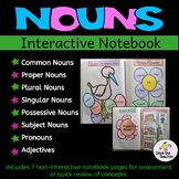 Grammar: Parts of Speech: Nouns: Interactive Notebook