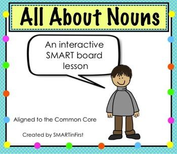 All About Nouns SMART board Lesson