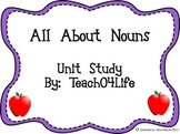All About Nouns Unit Study