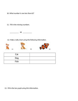 All About Number Sense Assessment