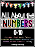 All About the Numbers 0-10 {Printables, Books, Centers, Anchor Charts & More!}