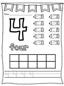 All About Numbers 1 - 10