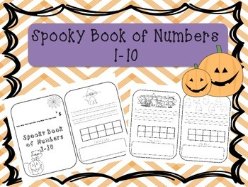 All About Numbers 1-10 Halloween Book