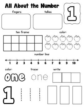 All About Numbers {1-20}