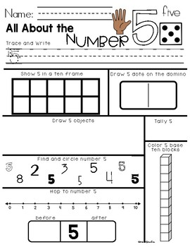 All About Numbers 1 - 20