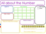 All About Numbers 10-20 Flip Chart