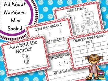 All About Numbers 1-50
