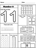 All About Numbers 11 - 20