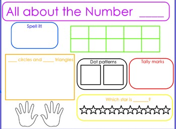 All About Numbers Flipchart