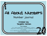 All About Numbers Packet - Number Journal
