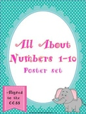 All About Numbers Poster Set ~ Aligned with the CCSS