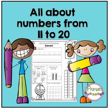 All About Numbers from 11 - 20