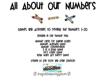 All About Numbers (numbers 0-20)