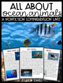 All About Ocean Animals: A Nonfiction Unit