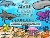 All About Ocean Animals-BUNDLED!!! (crafts, writing activities, and much more)