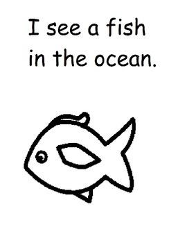 All About Ocean Animals Workbook