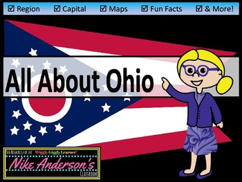 All About Ohio | US States | Activities & Worksheets