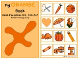 All About Orange Interactive Book and Activities