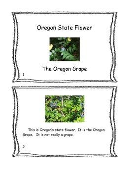 All About Oregon Reading Mini Books